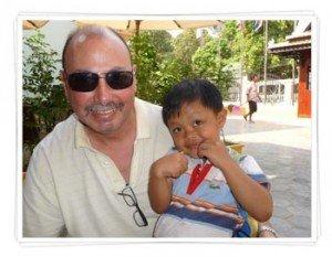 Derek-in-Cambodia experience being a volunteer
