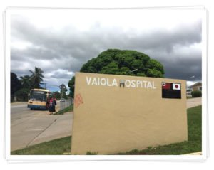Vaiola Hospital in Tonga for Medical Electives