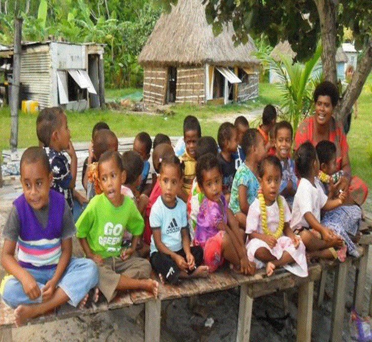 Providing healthcare to Fijian school children